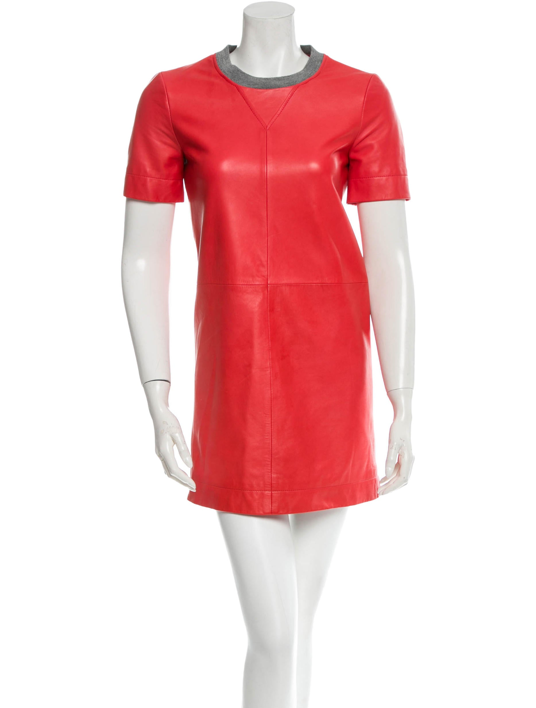 860533c7948 Cacharel Leather Dress - Clothing - CAC20617 | The RealReal