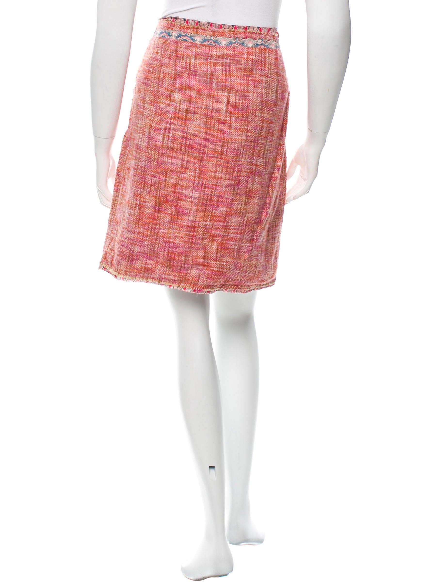 cacharel tweed mini skirt clothing cac20937 the realreal