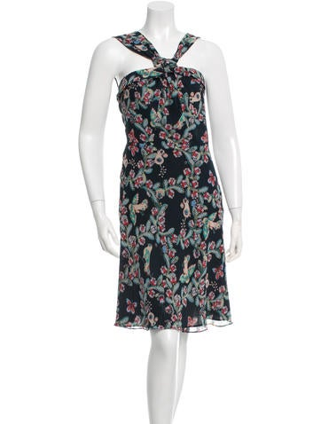 Cacharel Printed Midi Dress None