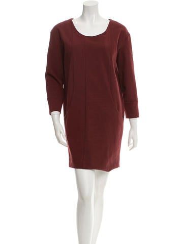 Cacharel Long Sleeve Shift Dress None