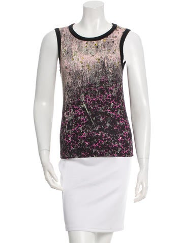 Cacharel Sleeveless Printed Top None