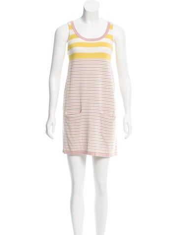 Cacharel Sleeveless Striped Tunic None
