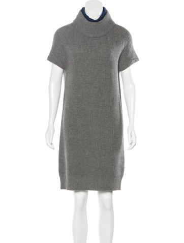 Cacharel Wool Sweater Dress None