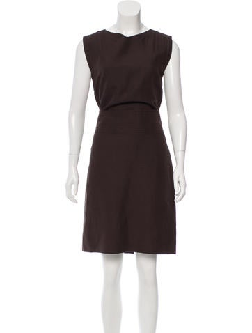 Cacharel Sleeveless Knee-Length Dress None