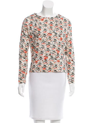 Cacharel Printed Long Sleeve Top None