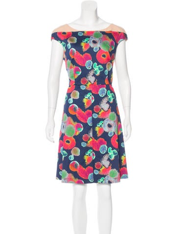 Cacharel Printed Knee-Length Dress None