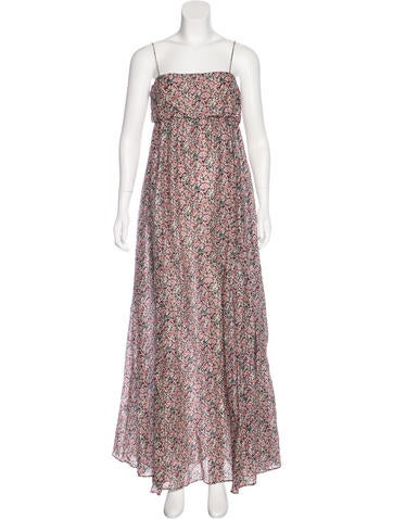 Cacharel Printed Maxi Dress None