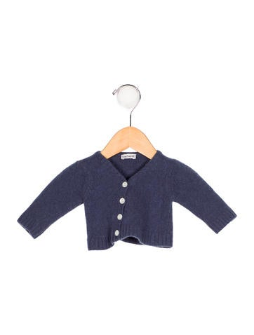 Cacharel Girls' Wool Knit Cardigan None