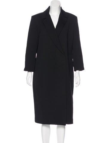 Cacharel Notch-Lapel Long Coat None