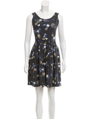 Cacharel Printed Mini Dress None