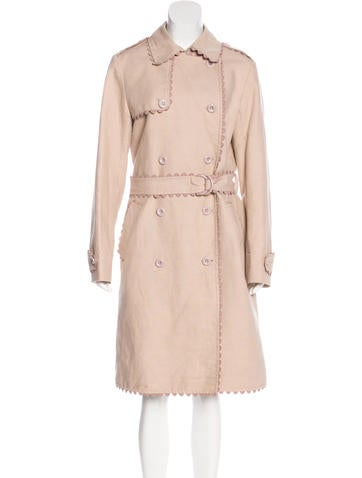 Cacharel Belted Long Coat None