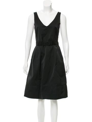 Cacharel Sleeveless Knee-Length Dress None
