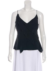 33a4fbf1d8 Cacharel. Sleeveless Silk Top