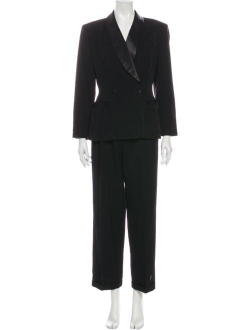 Cacharel Vintage Virgin Wool Pantsuit Wool