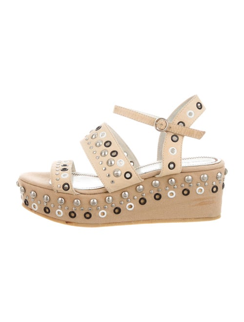 Cacharel Studded Accents Sandals