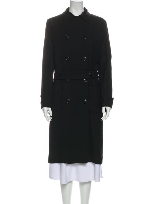 Cacharel Trench Coat Black - image 1