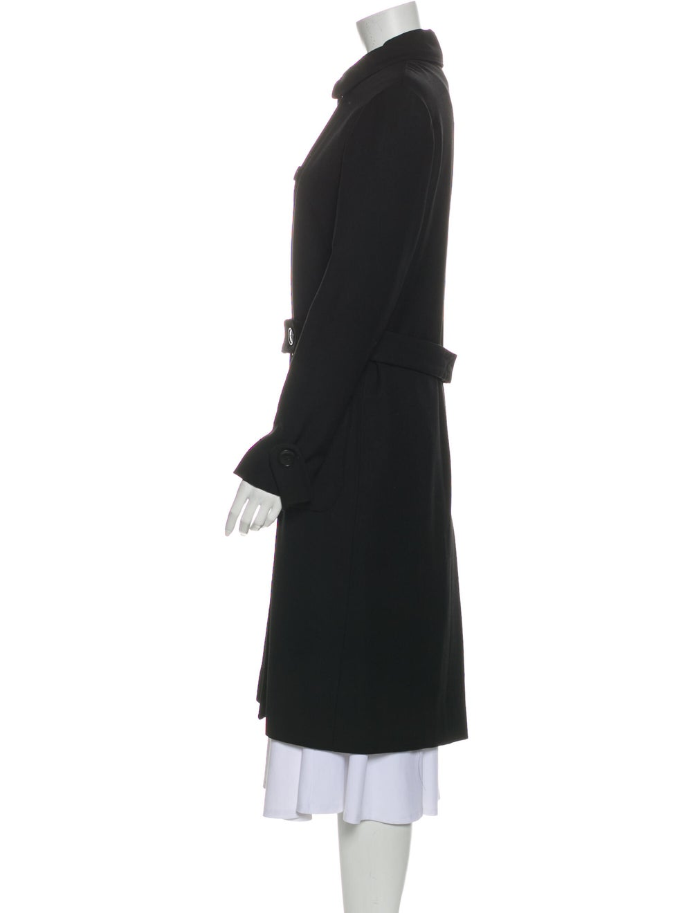Cacharel Trench Coat Black - image 2