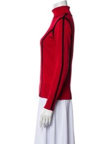 Carmen Marc Valvo Turtleneck Sweater