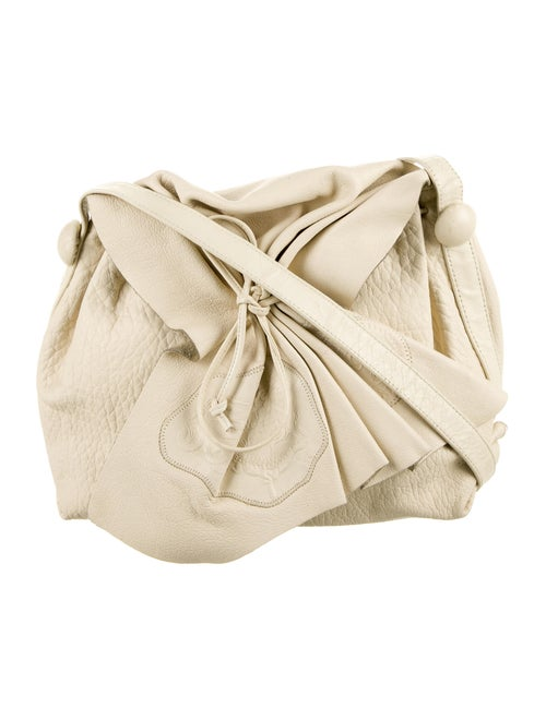 Carlos Falchi Leather Shoulder Bag
