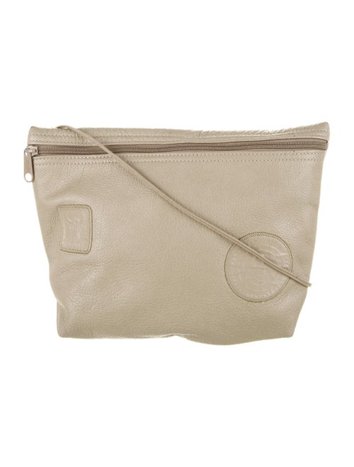 Carlos Falchi Leather Crossbody Bag