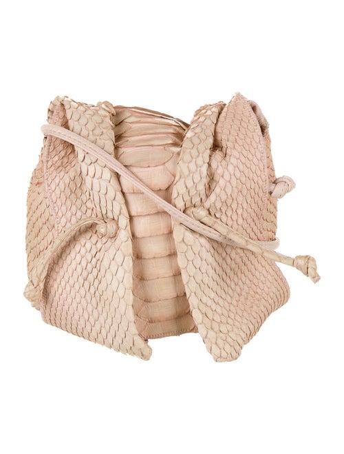 Carlos Falchi Python Mini Crossbody Bag