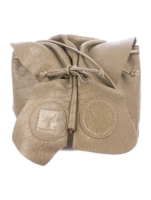 Carlos Falchi Butterfly Shoulder Bag Gold