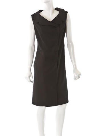 Calvin Klein Wool Column Dress