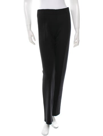 Calvin Klein Collection High-Rise Wide-Leg Pants w/ Tags None