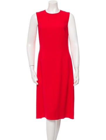 Calvin Klein Collection Sleeveless Midi Dress None