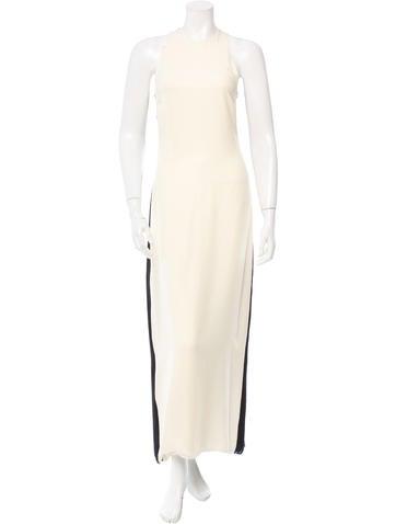 Calvin Klein Collection Silk Sleeveless Dress None
