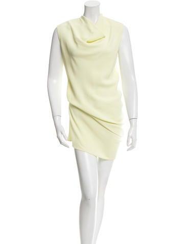 Calvin Klein Collection Sleeveless Mini Dress None