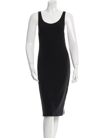 Calvin Klein Collection Silk Midi Dress None