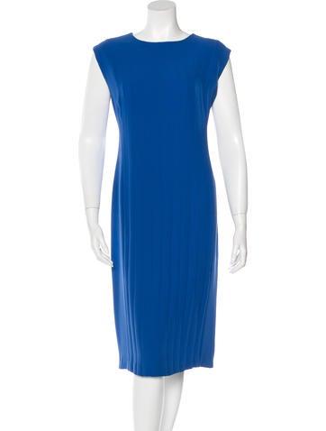 Calvin Klein Collection Silk Shift Dress None