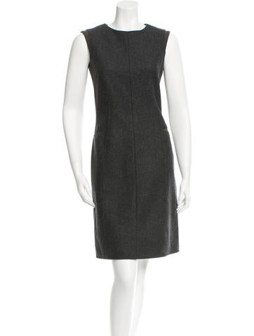 Calvin Klein Collection Wool Sheath Dress w/ Tags None