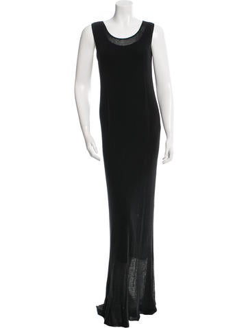 Calvin Klein Collection Knit Maxi Dress None