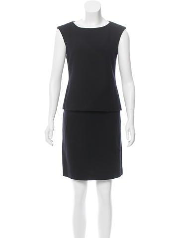 Calvin Klein Collection Wool Skirt Set None