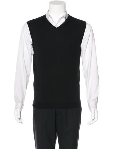 Calvin Klein Collection Cashmere Sweater Vest w/ Tags None