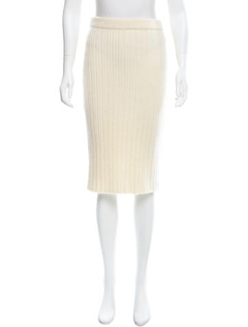 Calvin Klein Collection Knee-Length Pencil Skirt None