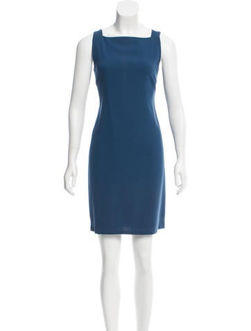 Calvin Klein Collection Wool Mini Dress None