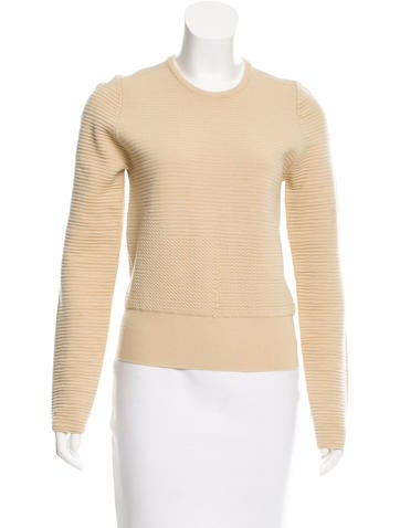Calvin Klein Collection Pure New Wool Crew Neck Sweater None