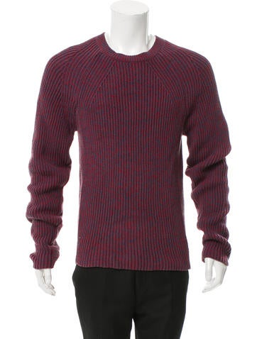 Calvin Klein Collection Pattened Knit Sweater None
