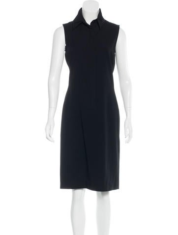 Calvin Klein Collection Wool Sheath Dress None