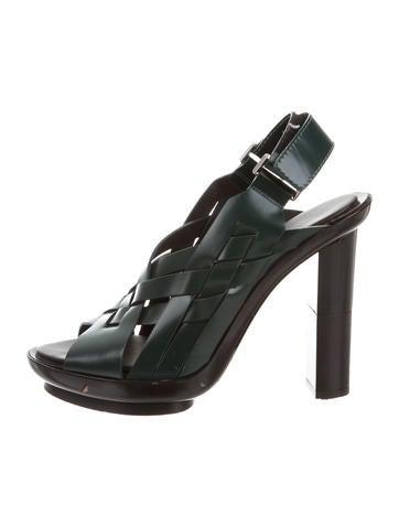 Calvin Klein Collection Interwoven Slingback Sandals