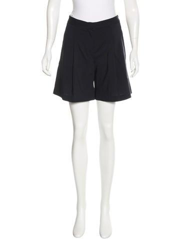 Calvin Klein Collection Wool Mini Shorts None
