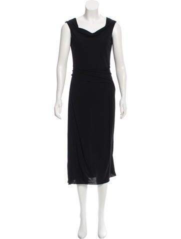 Calvin Klein Collection Draped Midi Dress None