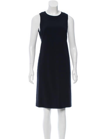 Calvin Klein Collection Wool Knee-Length Dress None