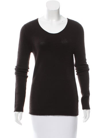 Calvin Klein Collection Scoop Neck Cashmere Sweater None