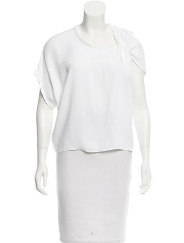 Calvin Klein Collection Oversize Short Sleeve Top w/ Tags None