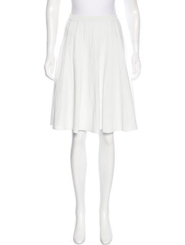 Calvin Klein Collection A-Line Knee-Length Skirt None