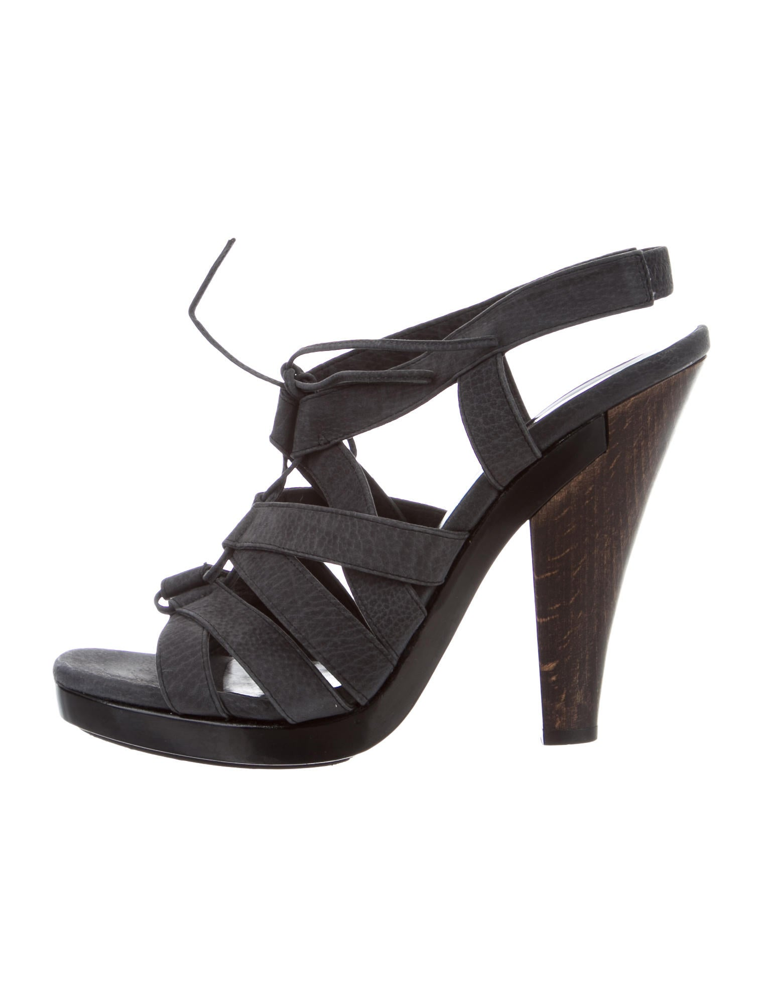 Calvin Klein Collection Lace-Up Cage Sandals free shipping best store to get sale 2015 0Xh3GpGx